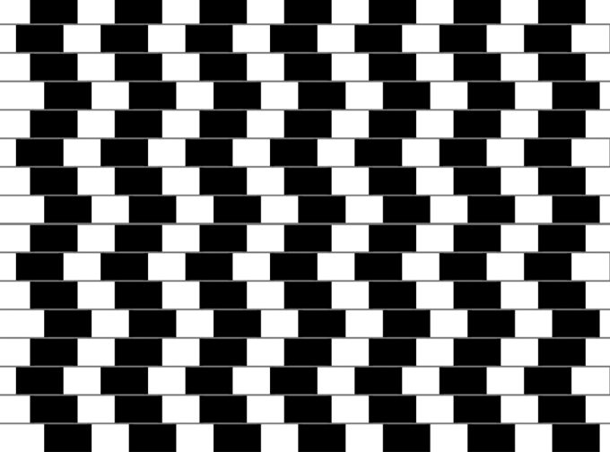 optical illusion lines